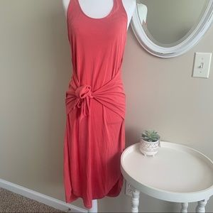 🦉/ Lucky Brand Dusty Rose Tank Dress Size Small